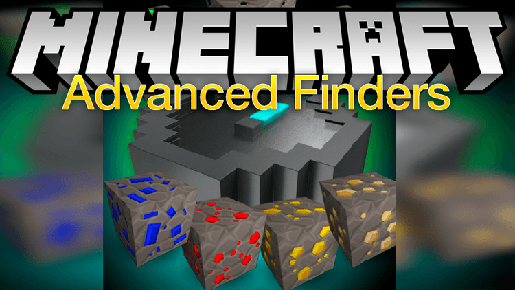 Advanced Finders mod for minecraft logo