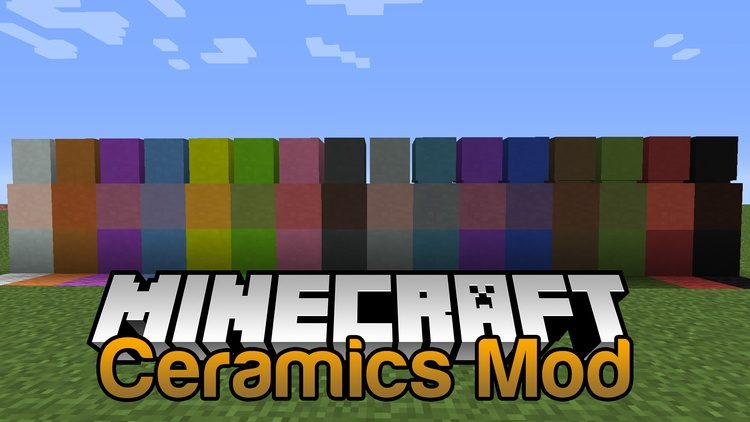 Ceramics Mod for MInecraft logo