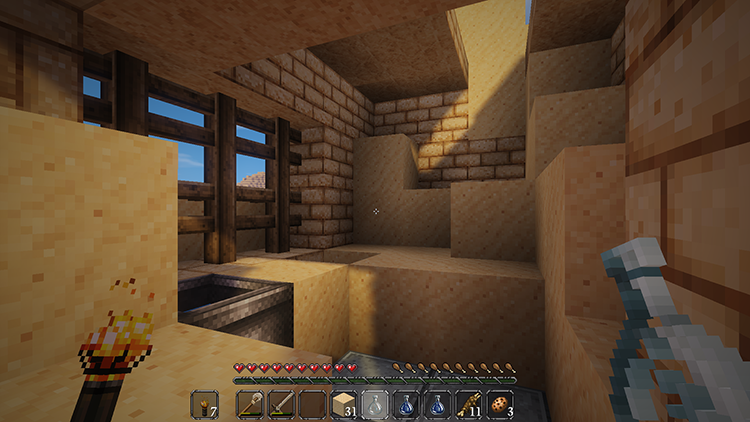 Coarse Sands map cho Minecraft