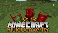 FluidConverter MOd for minecraft logo
