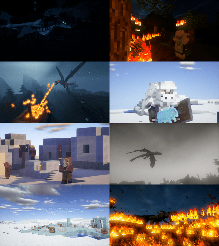 Ice and Fire Mod for Minecraft 1