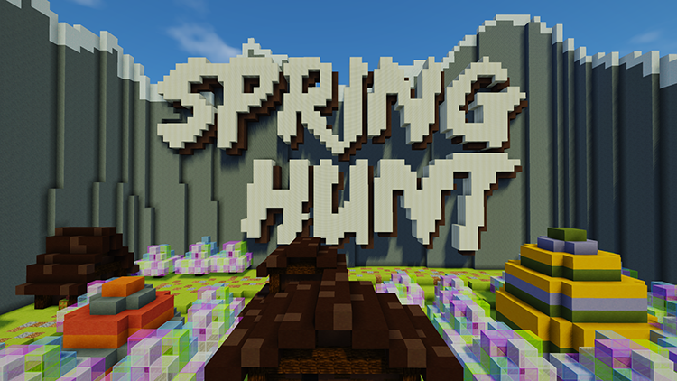 Spring Hunt Map cho Minecraft