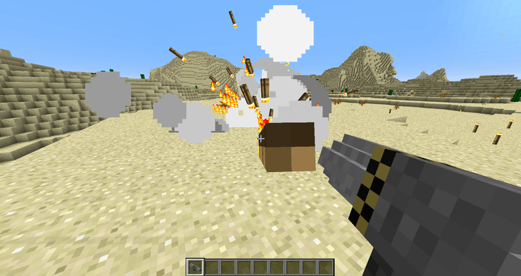 Torched mod for minecraft 01