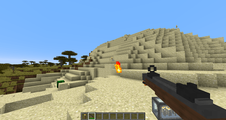 Torched mod for minecraft 02