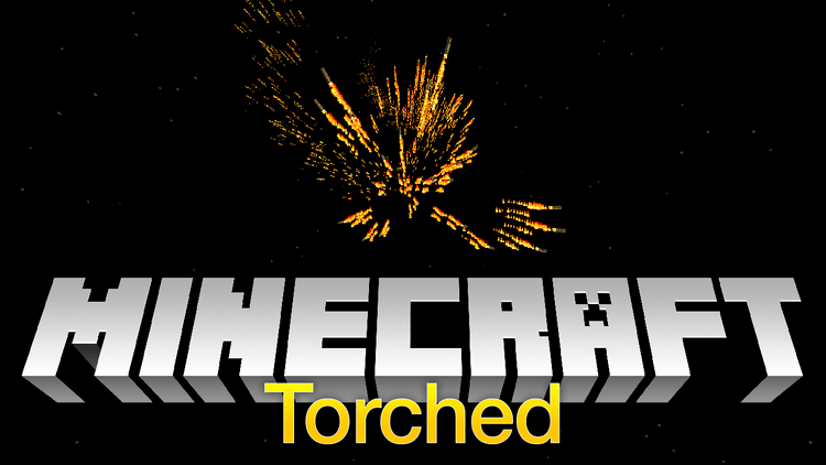Torched mod for minecraft logo