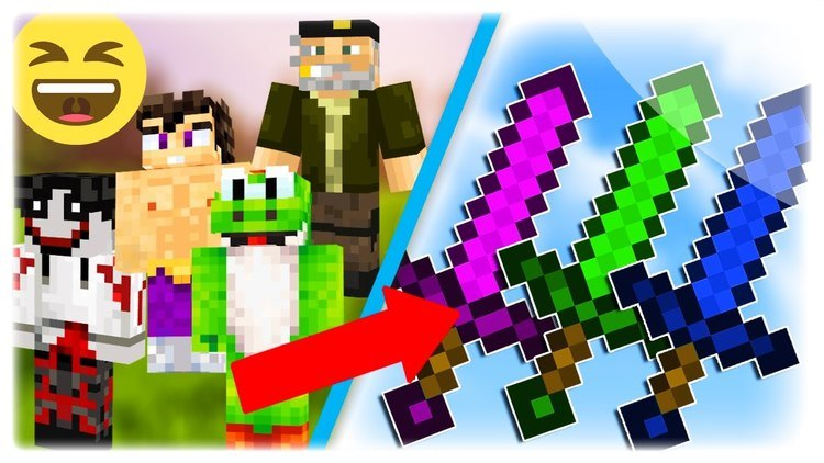 Youtuber Swords Mod for minecraft logo
