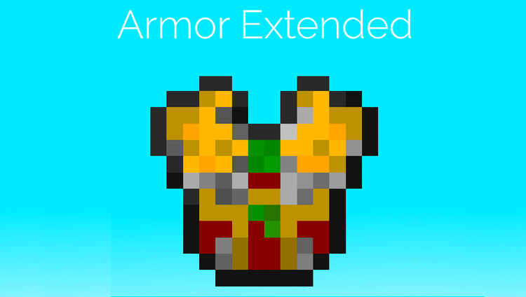 armor extended mod for minecraft logo