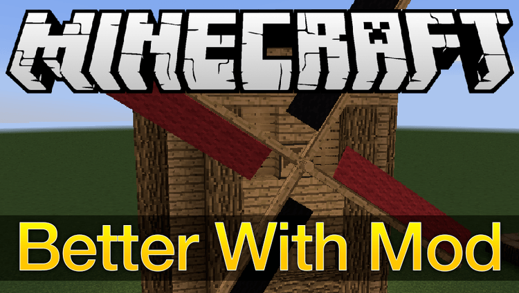 better with mod mod for minecraft logo