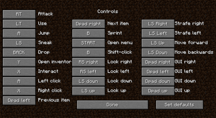 minecraft joypad mod for minecraft 4