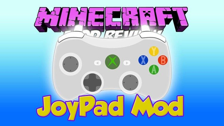 minecraft joypad mod for minecraft logo