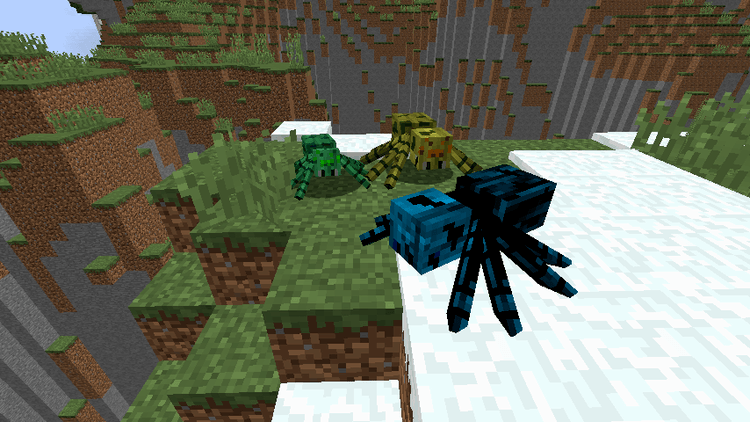 much more spider v2 mod for minecraft 01