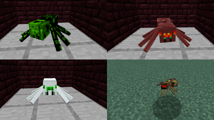 much more spider v2 mod for minecraft 04