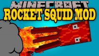 rocket squids mod for minecraft logo