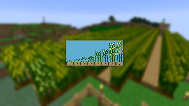 simple corn mod for minecraft 02