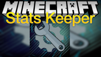 stats keeper mod for minecraft logo