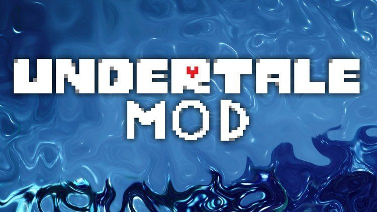undertale mod for minecraft logo