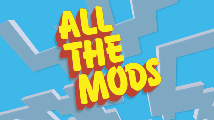 All The Mods modpack for minecraft logo