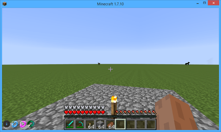 BaublesHud Mod for minecraft 1