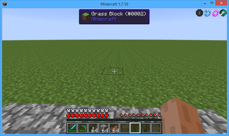 BaublesHud Mod for minecraft 3
