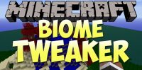 BiomeTweaker Mod for Minecraft logo