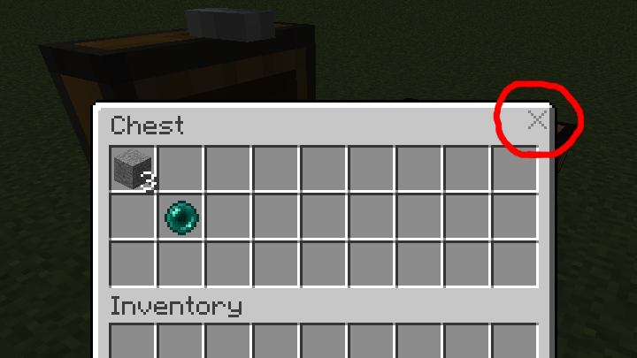 Inventory X mod for minecraft 01
