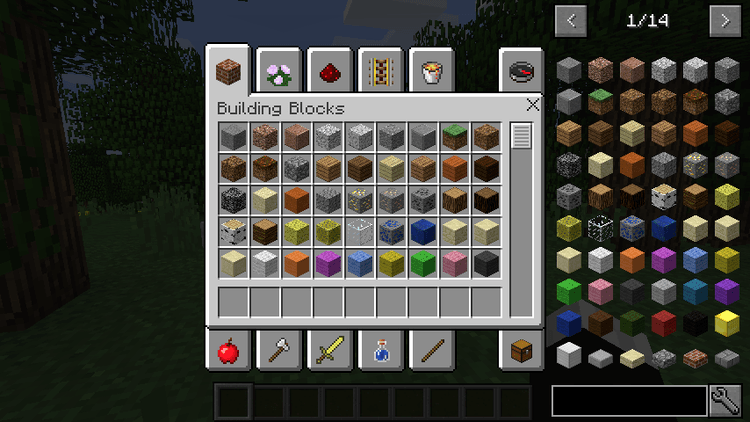 Inventory X mod for minecraft 04