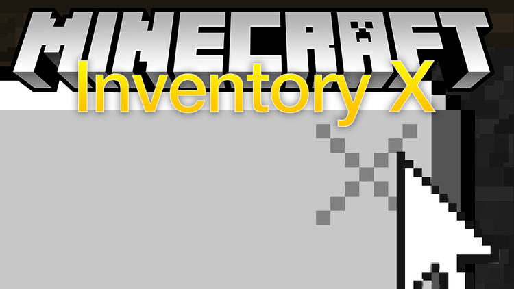 Inventory X mod for minecraft logo