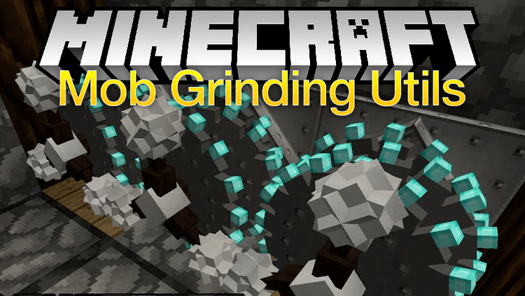 Mob Grinding Utils mod for minecraft logo