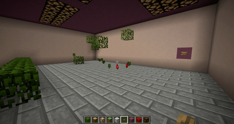 Quick Leaf Decay mod for minecraft 02