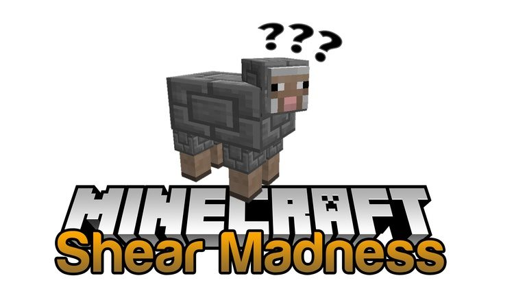 Shear Madness Mod for minecraft logo