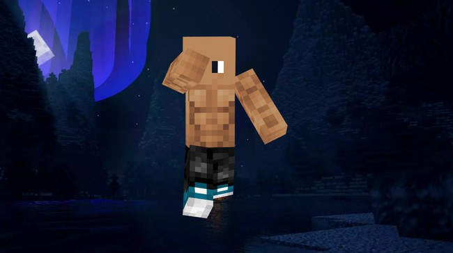 Skin Dwayne Johnson 1