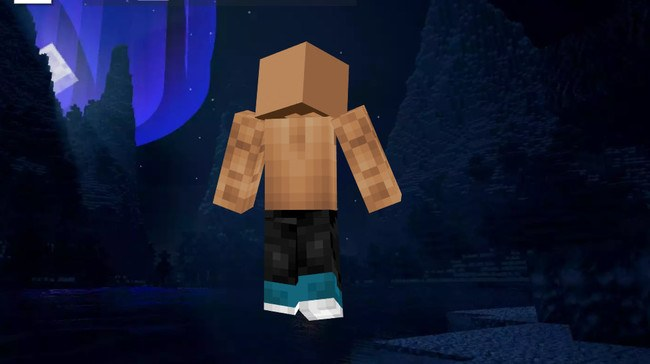 Skin Dwayne Johnson 2