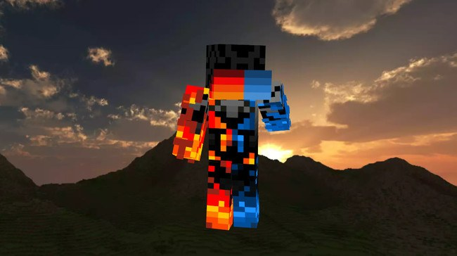 Skin Enderman Ice and Fire 2