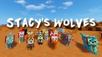 Stacy wolves minecraft Logo