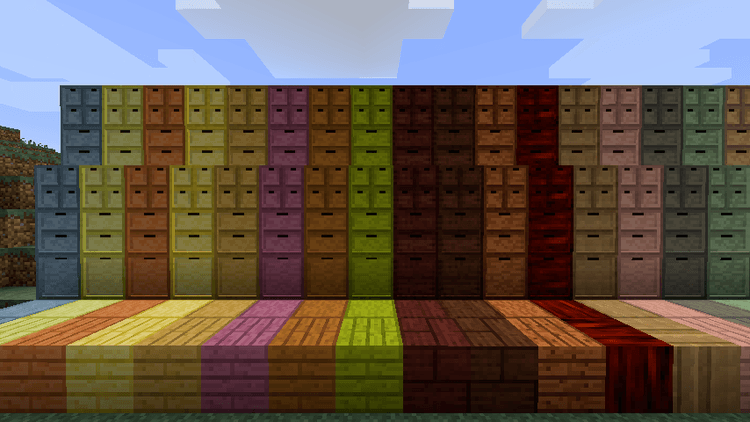 Storage Drawers Extras Mod for minecraft 2