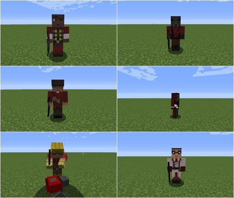 TF2 Stuff Mod for minecraft 1
