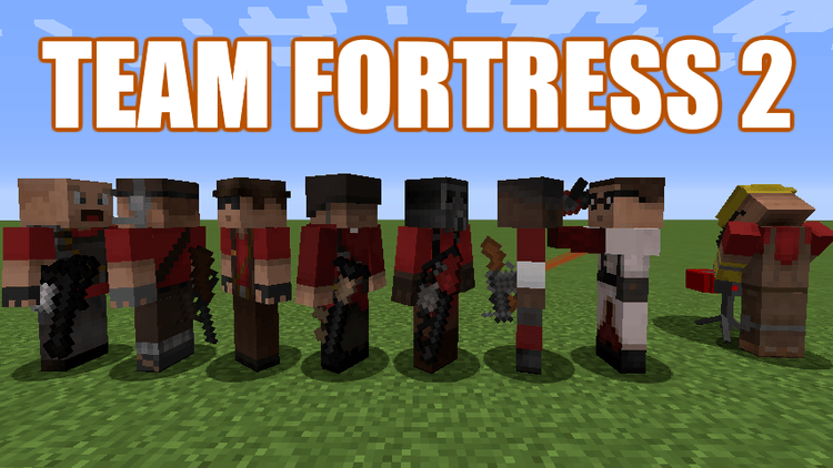 TF2 Stuff Mod for minecraft logo