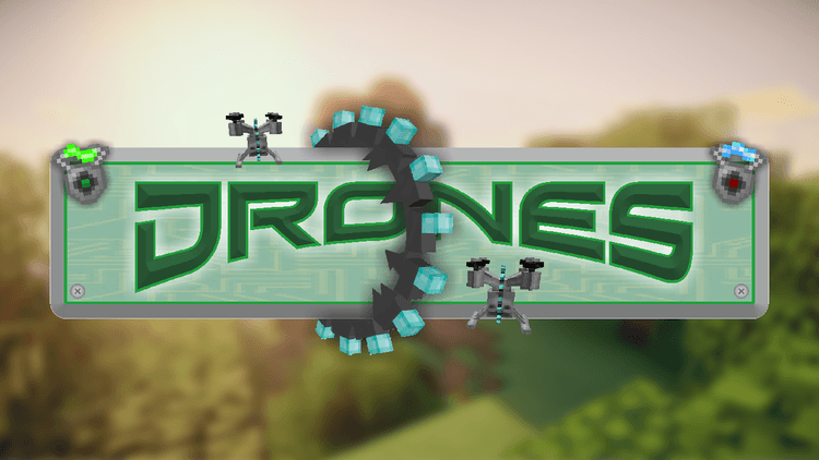 drones mod for minecraft 01