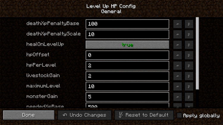 level up hp mod for minecraft 04