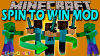 spin to win mod for minecraft logo