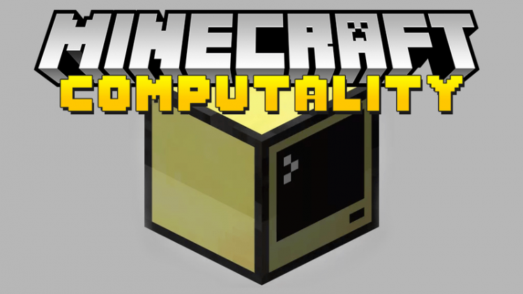 Computality mod for minecraft logo