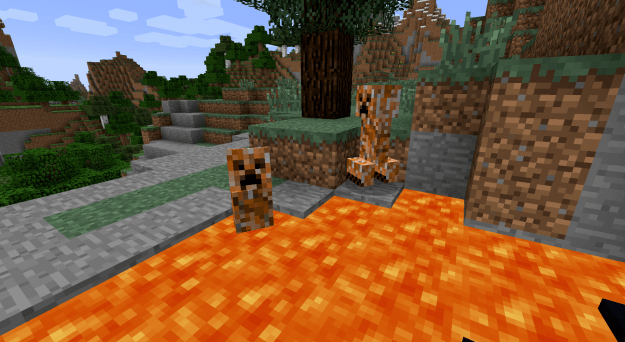 Elemental Creepers mod for minecraft 03