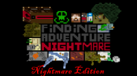 Finding Adventure  Nightmare Edition logo