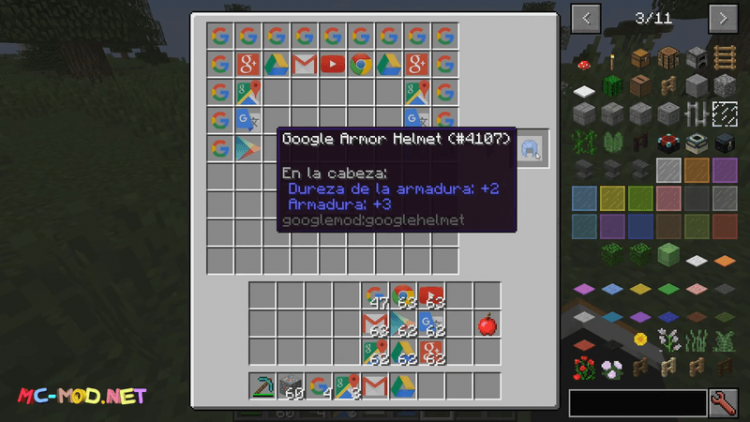 Google mod for minecraft 05
