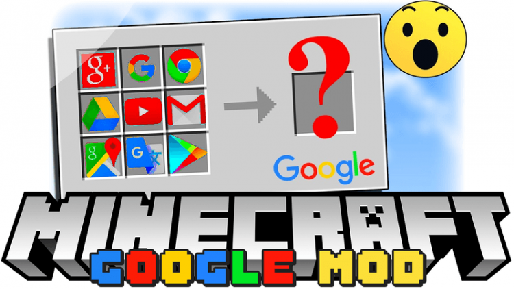 Google mod for minecraft logo
