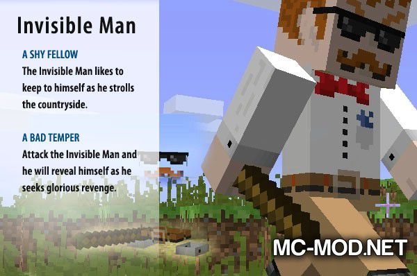 More Creeps and Weirdos mod for minecraft (1)