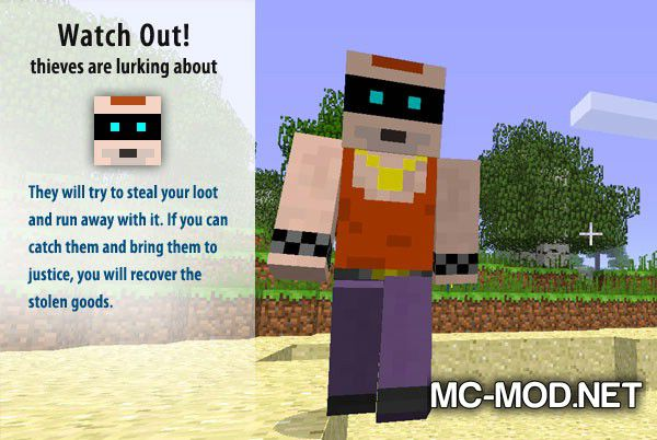 More Creeps and Weirdos mod for minecraft (2)