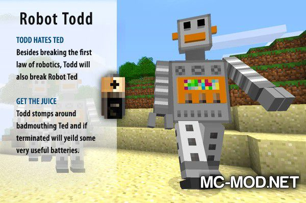 More Creeps and Weirdos mod for minecraft (25)