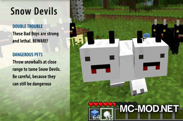 More Creeps and Weirdos mod for minecraft (34)