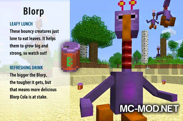 More Creeps and Weirdos mod for minecraft (5)